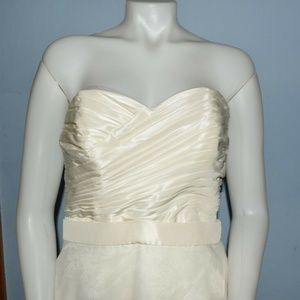 Davids Bridal KP3265 Ivory Wedding dress 2 in 1